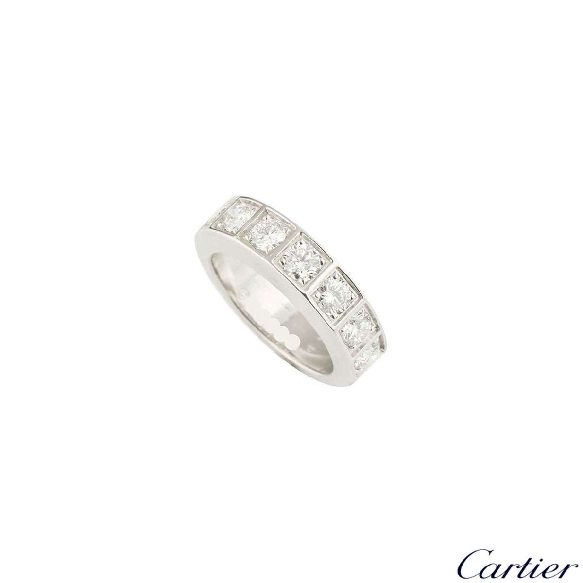 Cartier Diamond Half Eternity Ring 1.05ct